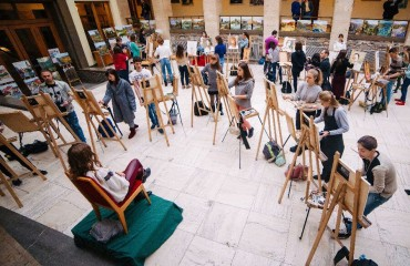 """Silver Easel"" contest. The fourth day – 21 October 2016. (Photo album)"