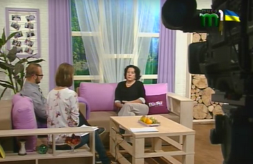 "Vice-rector of Transcarpathian Academy of Arts Maryna Kiiak about the contest ""Silver Easel"" - TV programme ""Morning on the Tisza"""