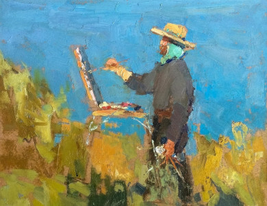 Шишман З. 'Ранковий пленер' / Z. Shyshman Morning Plein Air'