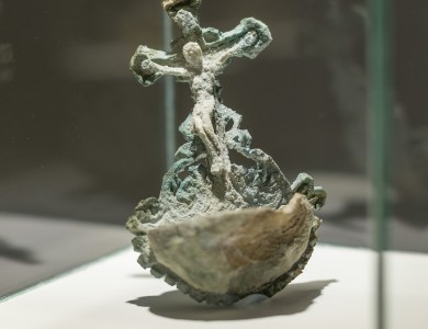 'Holy water crucifix'