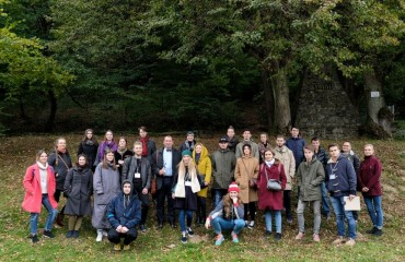 "Picturesque Khust: Participants of ""Silver Easel"" choose location for ""Cityscape"" Stage"