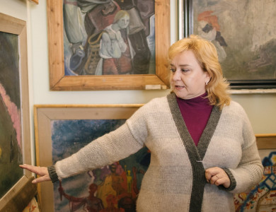 "Acquaintance with the creativity of Masters: Participants of ""Silver Easel"" visited museum of Fedir Manailo"