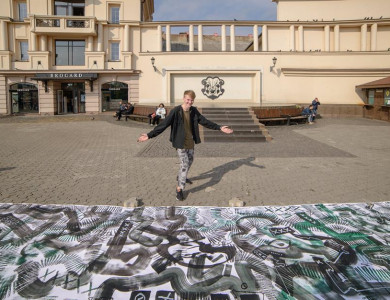 """""""10 metres of your opportunities"""" by Maksym Skvortsov"""