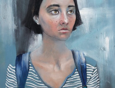 'Портрет Тані', 2016, п.о., 50х70 / 'Tania's Portrait', 2016, oil on canvas, 50x70