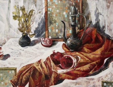 'Ранок', 2015, п.о., 70х100 / 'Morning', 2015, oil on canvas, 70x100