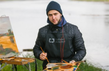"Prize-winner of ""Silver Easel"" Serhii Korabelnikov: ""I came back to Kyiv impressed by wonderful nature of Transcarpathia"""
