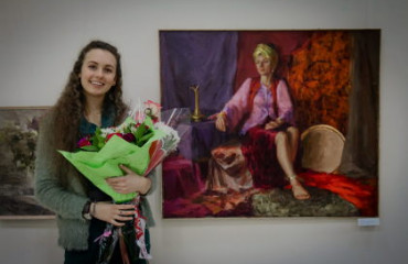A success story. Personal exhibition of Yevheniia Bozhko
